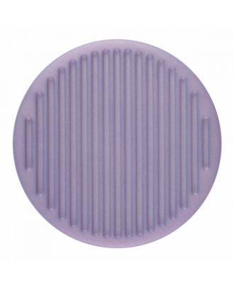 polyamide button round shape with fine structure on the surface and shank - Size: 25mm - Color: purple - Art.-Nr.: 346818