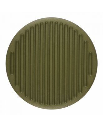 polyamide button round shape with fine structure on the surface and shank - Size: 25mm - Color: light green - Art.-Nr.: 346819