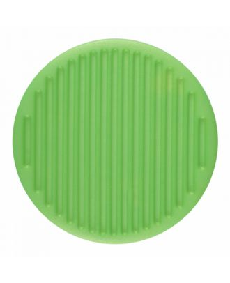 polyamide button round shape with fine structure on the surface and shank - Size: 25mm - Color: light green - Art.-Nr.: 346820