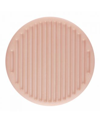 polyamide button round shape with fine structure on the surface and shank - Size: 25mm - Color: pink - Art.-Nr.: 346821