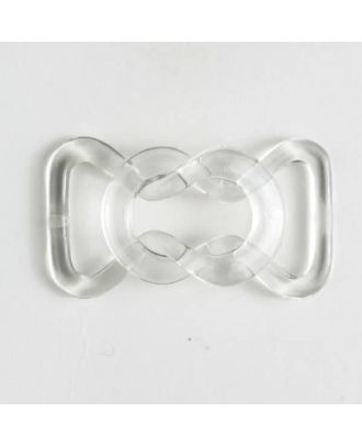 buckle - Size: 14mm - Color: transparent - Art.-Nr.: 330906