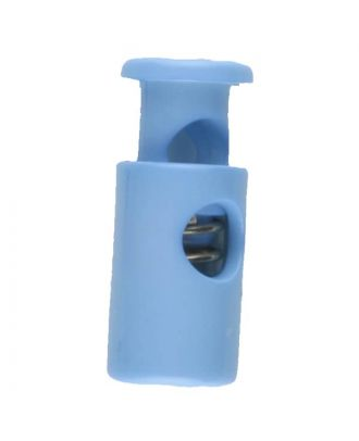 cord stopper with spring - Size: 23mm - Color: blue - Art.No. 260602