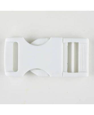 plastic fastener - Size: 30mm - Color: white - Art.No. 400905