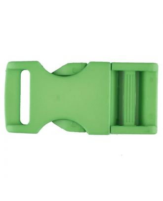 plastic fastener - Size: 20mm - Color: green - Art.No. 331066