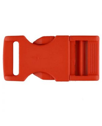 plastic fastener - Size: 20mm - Color: red - Art.No. 331068