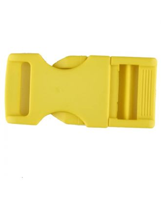 plastic fastener - Size: 20mm - Color: yellow - Art.No. 331069
