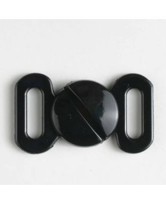 buckle - Size: 10mm - Color: black - Art.-Nr.: 330912
