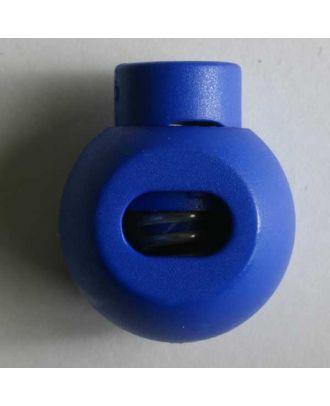 Cord stopper - Size: 20mm - Color: blue - Art.No. 280807