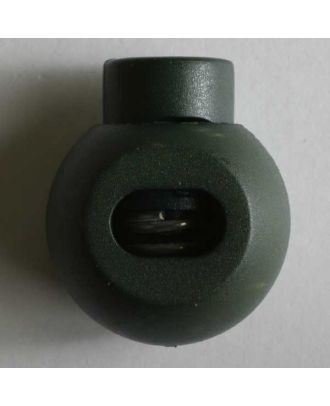 Cord stopper - Size: 20mm - Color: green - Art.No. 280809