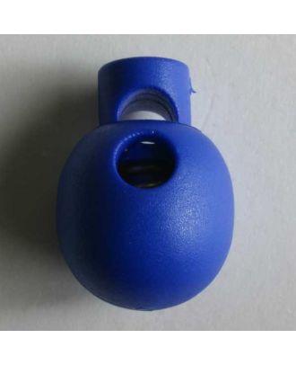 Cord stopper - Size: 18mm - Color: blue - Art.No. 260981