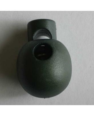 Cord stopper - Size: 18mm - Color: green - Art.No. 260983