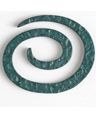plastic spiral closure - Size: 50mm - Color: green - Art.No. 450147
