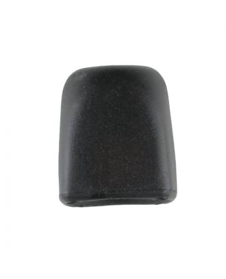 cord end - Size: 15mm - Color: black - Art.No. 221864