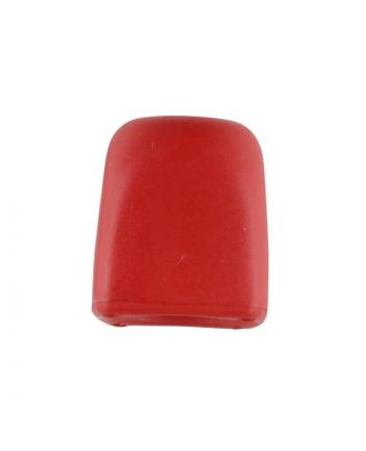 cord end - Size: 15mm - Color: red - Art.No. 221875