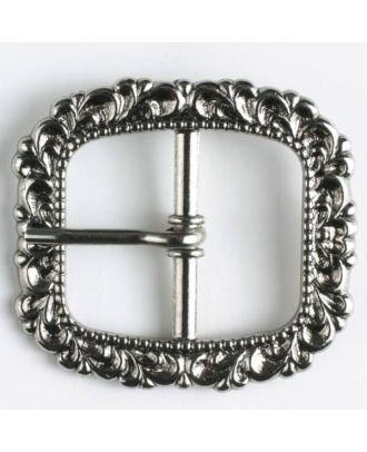 buckle - Size: 20mm - Color: antique silver - Art.-Nr.: 500006