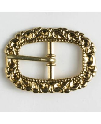 buckle - Size: 20mm - Color: antique gold - Art.-Nr.: 500007