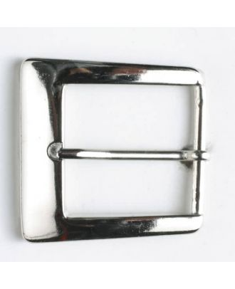 buckle - Size: 30mm - Color: silver - Art.-Nr.: 510901