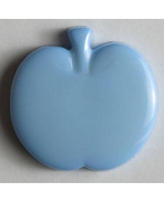 Appel button - Size: 18mm - Color: blue - Art.No. 200680
