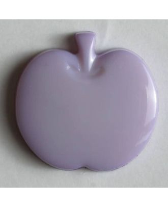 Appel button - Size: 14mm - Color: lilac - Art.No. 180686