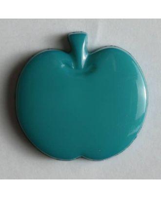 Appel button - Size: 14mm - Color: green - Art.No. 180658