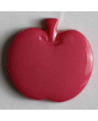 Appel button - Size: 14mm - Color: pink - Art.No. 180659