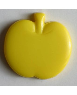 Appel button - Size: 18mm - Color: yellow - Art.No. 200783