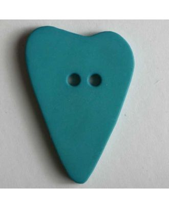 Heart button - Size: 28mm - Color: green - Art.No. 289066