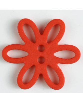 polyamide button - Size: 20mm - Color: red - Art.-Nr.: 281006