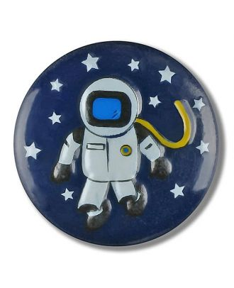astronaut with shank - Size: 15mm - Color: navy - Art.No. 261322