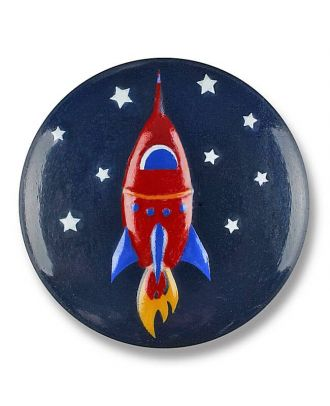 rocket with shank - Size: 15mm - Color: navy - Art.No. 261323