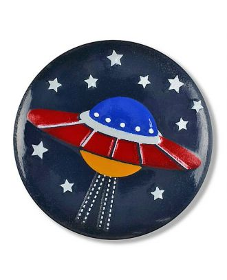 spaceship with shank - Size: 15mm - Color: navy - Art.No. 261324