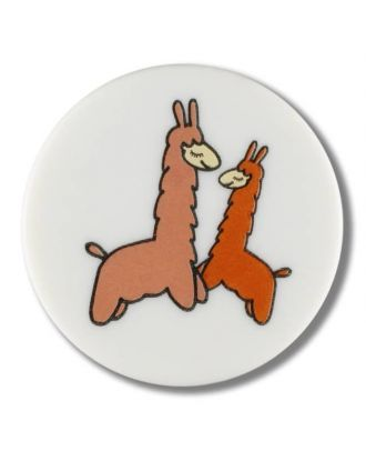 lama with shank - Size: 15mm - Color: white - Art.No. 261330