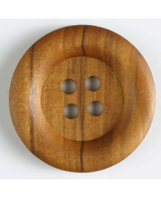 wood button   - Size: 30mm - Color: brown - Art.-Nr.: 300202