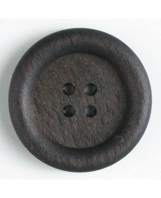 wood button   - Size: 18mm - Color: brown - Art.-Nr.: 241038