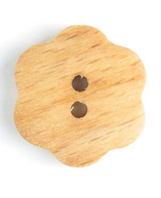 wood button   - Size: 20mm - Color: brown - Art.-Nr.: 251573