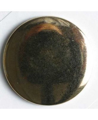 Blazer button, full metal - Size: 23mm - Color: gold - Art.No. 290016