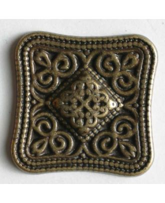 Full metal button - Size: 18mm - Color: antique brass - Art.No. 290555