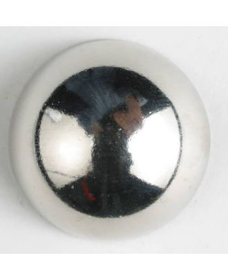 full metal button - Size: 20mm - Color: silver - Art.-Nr.: 310597