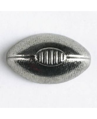 full metal button - Size: 20mm - Color: antique silver - Art.No. 300952