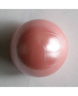polyamide button - Size: 8mm - Color: pink - Art.No. 201189
