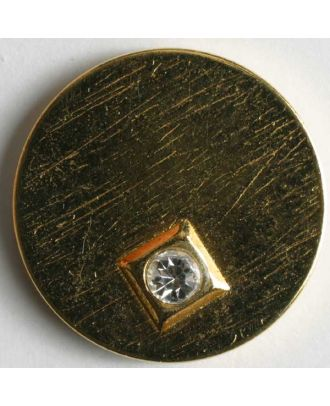 rhinestone button - Size: 23mm - Color: gold - Art.No. 420030