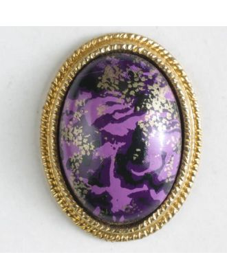 two-piece button with shank - Size: 23mm - Color: lilac - Art.No. 340383
