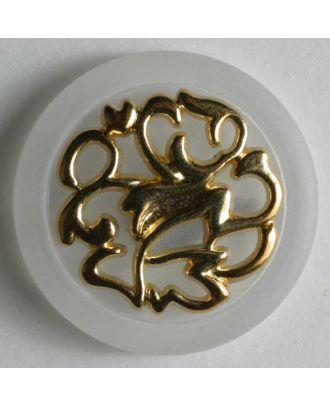 polyamide button - Size: 25mm - Color: transparent - Art.No. 340438