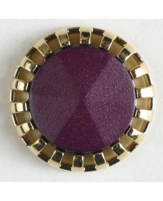 two-piece button with shank - Size: 18mm - Color: lilac - Art.No. 290502