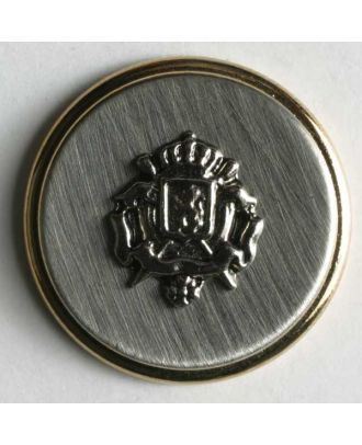 polyamide button - Size: 20mm - Color: gold - Art.No. 410018
