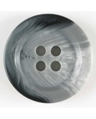Suit button - Size: 20mm - Color: grey - Art.No. 230133