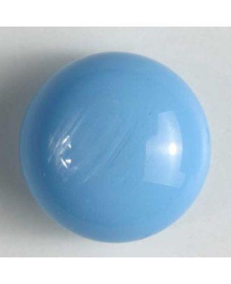 polyester button - Size: 13mm - Color: blue - Art.No. 210614