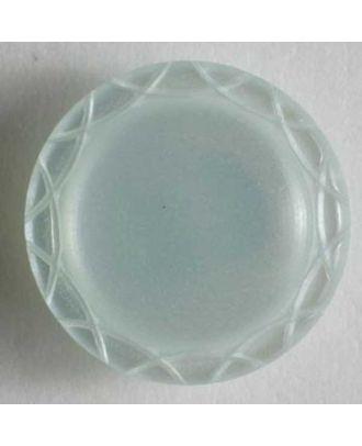 polyester button - Size: 13mm - Color: blue - Art.No. 210820