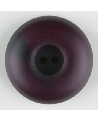 polyester button, round, 2 holes - Size: 30mm - Color: lilac - Art.-Nr.: 384715