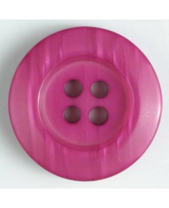 fashion button - Size: 20mm - Color: pink - Art.-Nr.: 330639